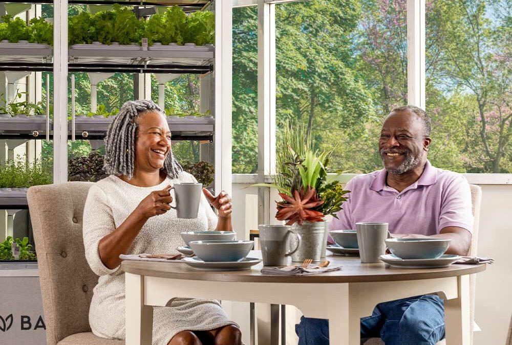 Better Living for Seniors with Babylon Micro-Farms