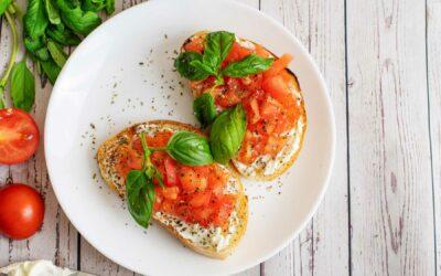 Lara's Tomato & Bruschetta Recipe