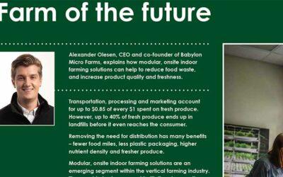 Farm of the Future: FOODBEV Magazine